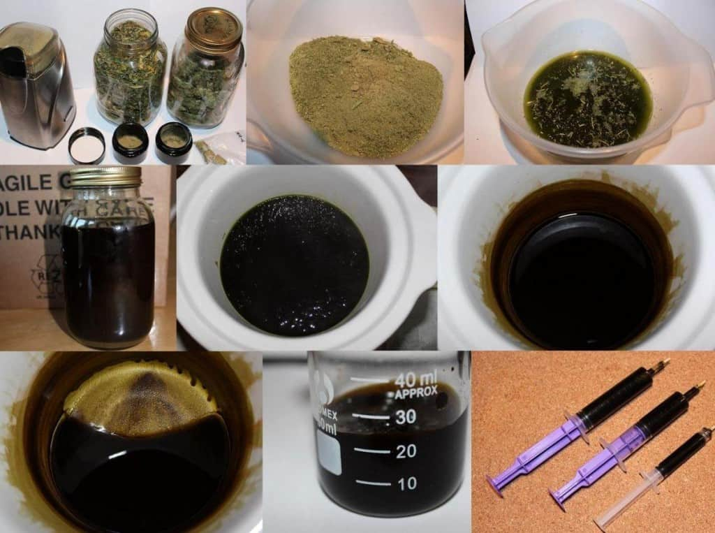 Cannabis Oil Ingredients