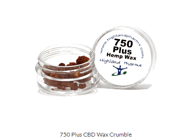 CBD 750 (75+%) Wax Crumble - 1gram