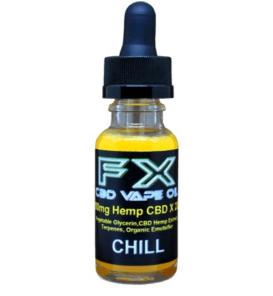 J. CHILL - FX CBD Vape Oil - 500mg-1500mg CBD