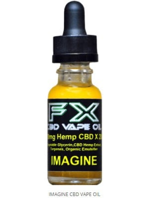 J. IMAGINE - FX CBD Vape Oil - 500mg - 1500mg CBD