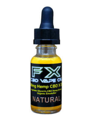 J. NATURAL - FX CBD Vape Oil - 500mg-1500mg CBD