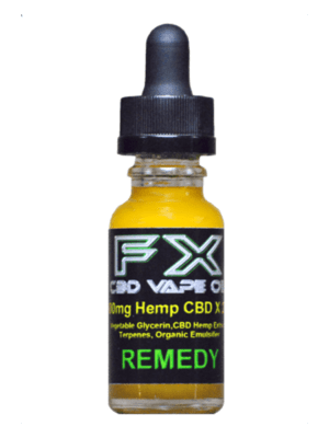 J. REMEDY - FX CBD Vape Oil - 500mg - 1500mg CBD