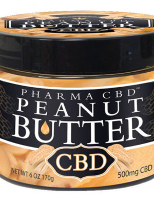 HEMP CBD OIL PEANUT BUTTER – 500MG