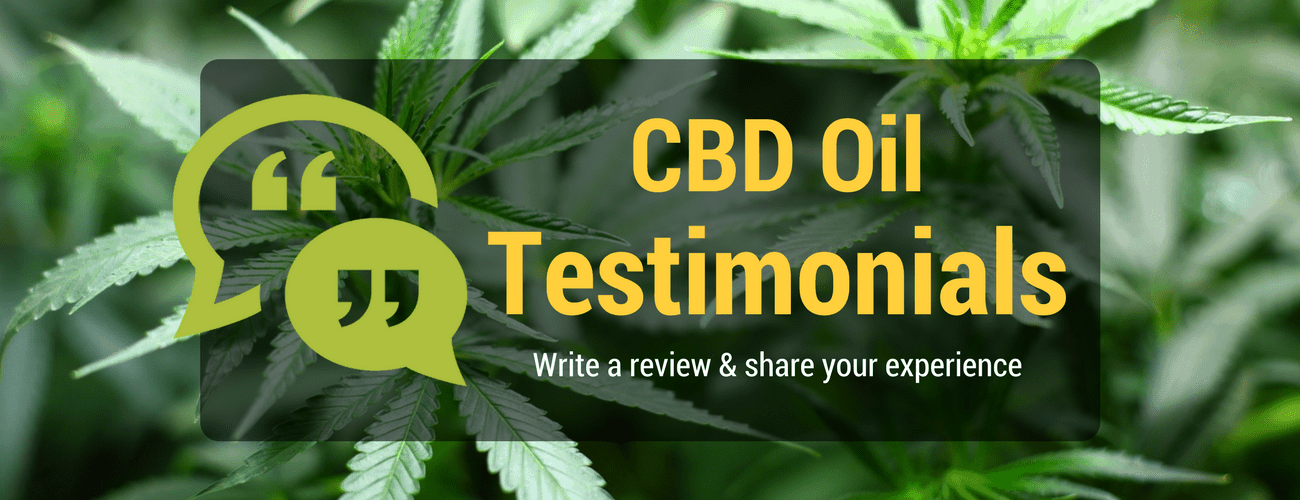 CBD Hemp Oil Reviews & Testimonials