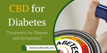 Cbd For Diabetes Treatment For Disease And Symptoms