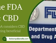 The FDA considers CBD as being beneficial