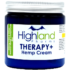 I. Therapy+ Hemp Cream - 200mg CBD (4oz Jar)