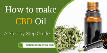 How to make CBD Oil – A step by step Guide