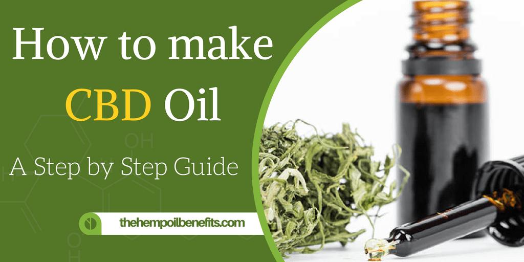 How to make CBD Oil - A step by step Guide - The Hemp Oil ...