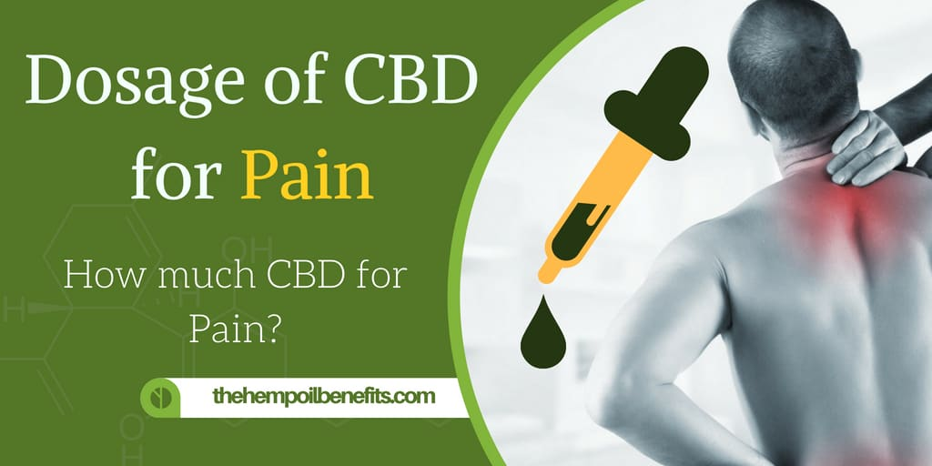 Dosage of CBD Oil for Pain