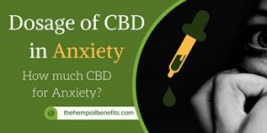 Dosage of CBD in Anxiety FI