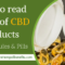 How to read Labels of CBD Products – CBD Capsules & Pills