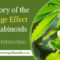 The Theory of the Entourage Effect of Cannabinoids & less Drug Interaction
