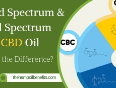 Braod Spectrum and Full Spectrum CBD Oil differences