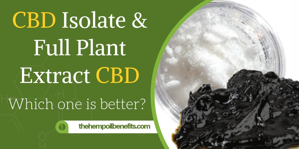 CBD Isolate & Full Plant Extract CBD