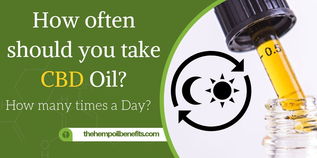 How often should you take CBD Oil?