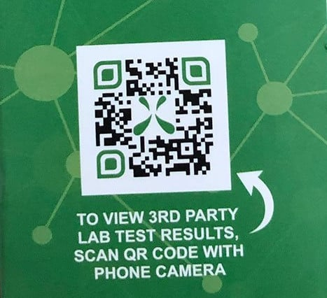 qr code thitd party test results cbd oil
