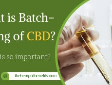 What is Batch testing of CBD