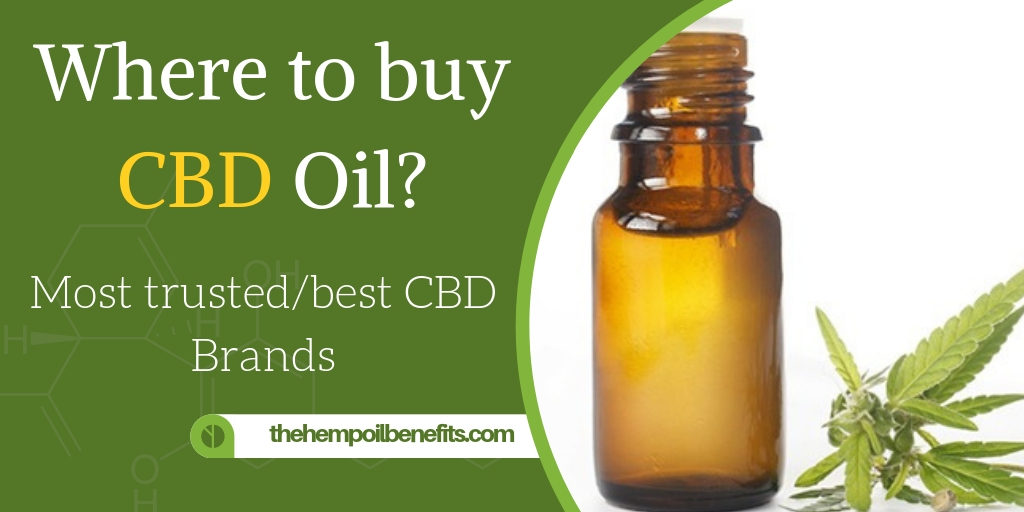 Where to buy CBD Oil - How to identify trustworthy CBD Companies