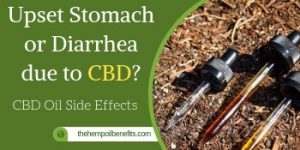 Stomach discomfort or diarrhea when using CBD FI