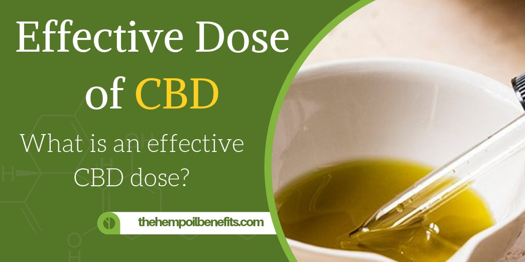CBD Dosage - What is an effective Dose of CBD?